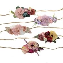 coronas flores RETRO VINTAGE