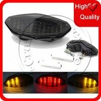 Motorcycle LED Brake Tail Light Turn Signal For Suzuki DL 650 1000 DL1000 V Strom 2003 2008 DL650 2012 2014 TailLight