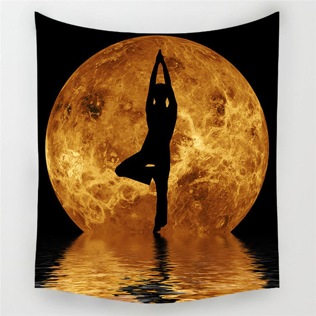 150cmx130cm India Yoga Creative Tapestry Beach Throw Mat Yoga Rug Wall Hanging Gobelin Livingroom Bedding Home Decor