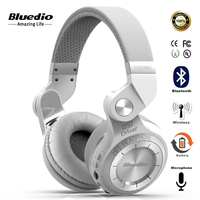 Bluedio T2 Fashionable Foldable Over The Ear Multifunction Bluetooth Headphones BT 4 1 With Mic