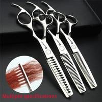 Sharonds 440C High End Hair Thinning Scissors Professional Barber Hairdressing Thinning Scissors Teeth Cut Shears Bag