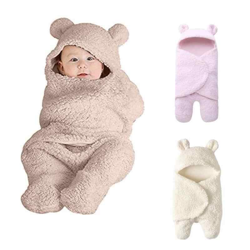 Детский спальный мешок для новорожденных зимние постельные принадлежности