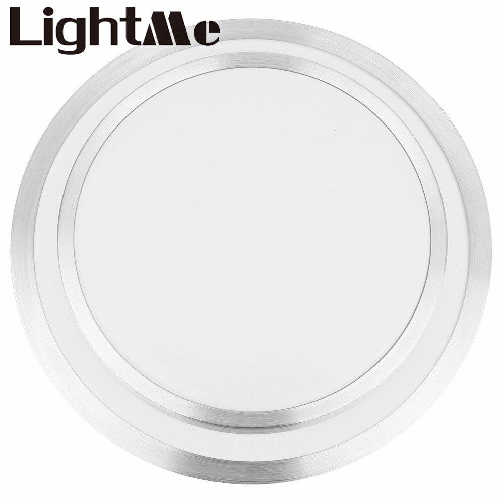 EN STOCK! Haute qualité Design de mode luminaire rond Double face 15 W LED plafonnier lampe de salon pour salle de lavage