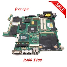 NOKOTION para Lenovo thinkpad R400 T400 placa base GM45 DDR3 14 pulgadas PC FRU 42W8125 placa principal DDR3 cpu gratis