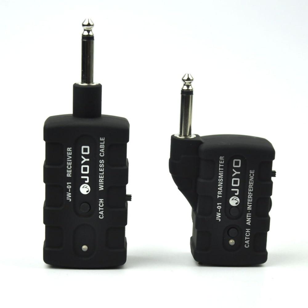 JOYO JW-01 Digital Wireless Guitar Instrument Transmitter Receiver System jw 1012jw244