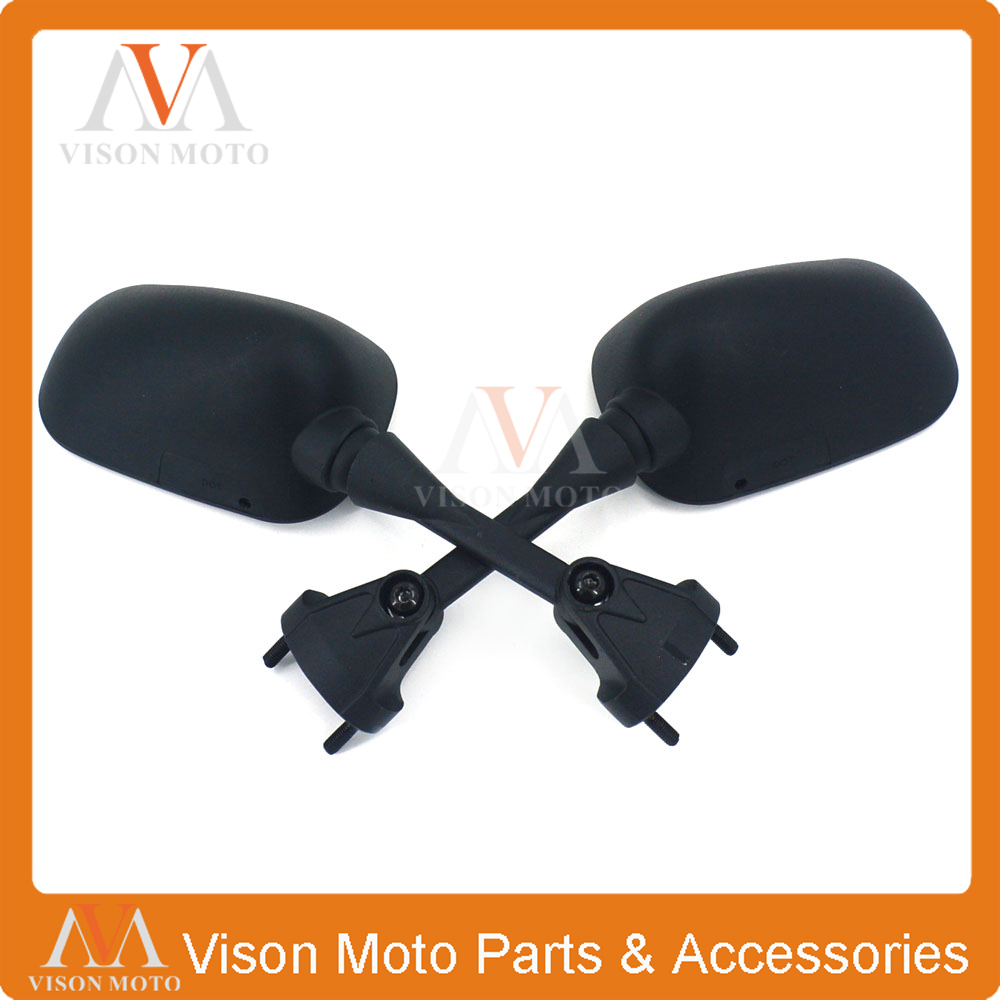Side aftermarket Mirrors For Kawasaki ZX6R 05 06 07 08 2004 2005 2006 2007 2008