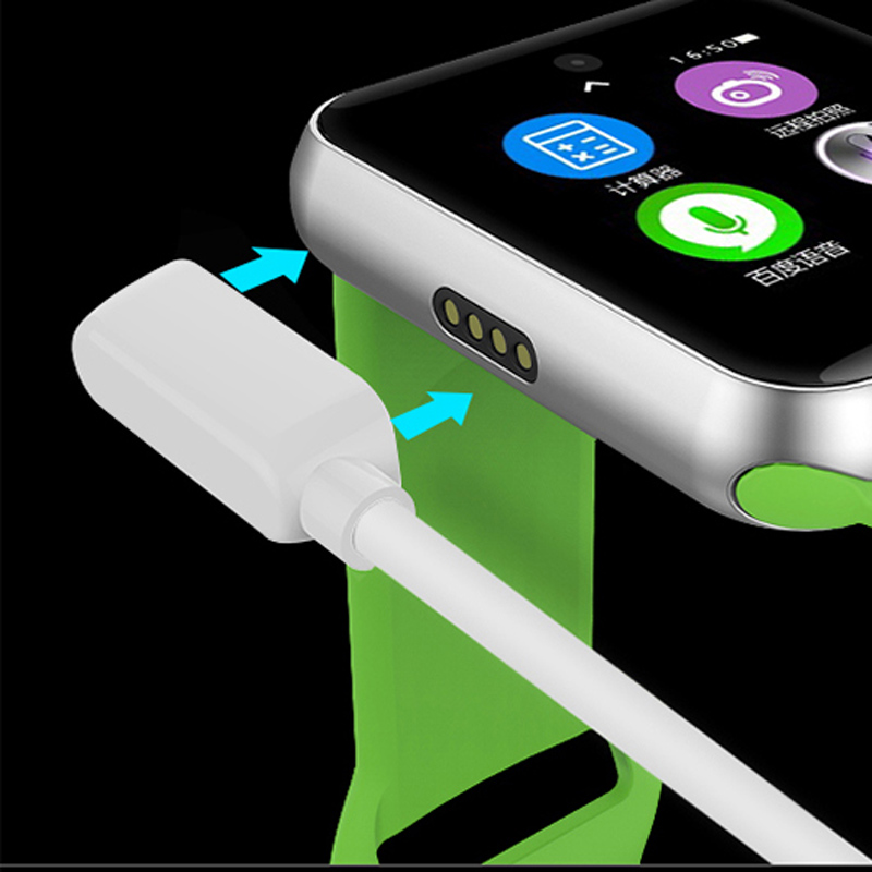 High-quality USB Magnet Adsorption Charging Cable For Lemfo Lf07 DM09 Smart watch USB Cable For hours