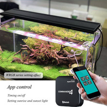 Chihiros WRGB Series Aquarium Led Lighting For Aquatic Water Plants Growing Lamp Simulated Sunrise Sunset Light Silver Color