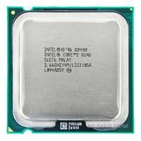 Processeur d'unité centrale 4 cœurs INTEL core 2 Quad Q8400 2.66 Ghz/4 M/1333 GHz) Socket LGA 775