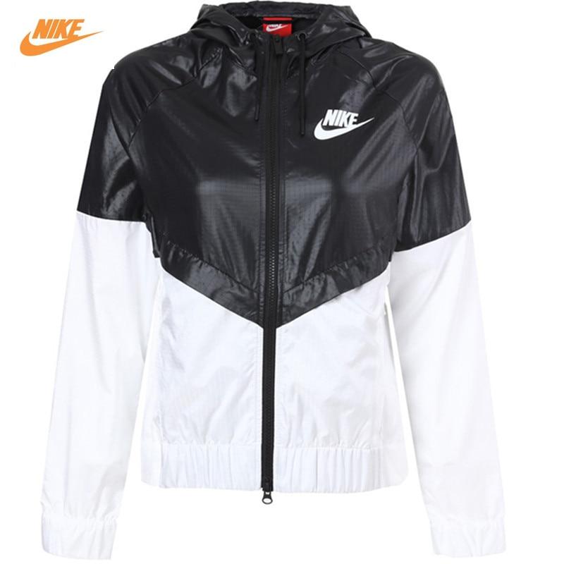 Nike Women's Coat Summer Sports Windbreaker Hooded Jacket Windrunner Fast Dry nike nike fuelband sports bracelet battery cover green m