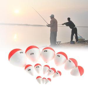 Image 5 - 1 Pcs angeln schwimm EVA hohe qualität luminous schwimm köder meer angeln tintenfisch angeln getriebe zubehör kunststoff 8