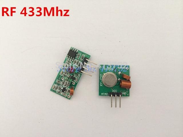 RF wireless receiver module & transmitter module board for arduino super regeneration 315/433MHZ DC5V (ASK /OOK) 1pair =2pcs
