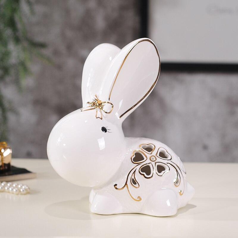 Свадебный подарок Домашнее украшение новые дома любителей керамических ремесел украшение животных 1 пара - 4