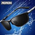 Aoron Óculos de luxo Da Marca Dos Homens Frame Da Liga de Óculos Polarizados Para A Condução De Pesca Esportiva Do Carro Macho Originais Famosos UV400 Óculos de Sol