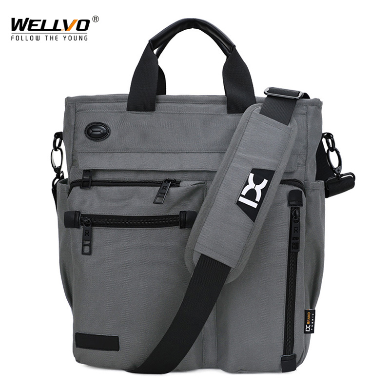 High Quality Men Business Hand Bag Male Single Shoulder Bags For Ipad Daily Carry Bag Crossbody Pack Man Travel Handbag XA249ZC