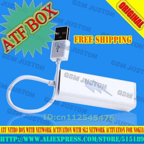 Nuevo Original ATF Advance Turbo Flasher Nitro Con Activación Red Con Sl3 Activation Network Es Pre-activado + Free gratis