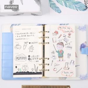 Image 3 - Mai Oro Piuma Serie A6 Notebook e Riviste Diario Personale Agenda Organizer Settimanale Planner Regalo Materiale Scolastico di Cancelleria