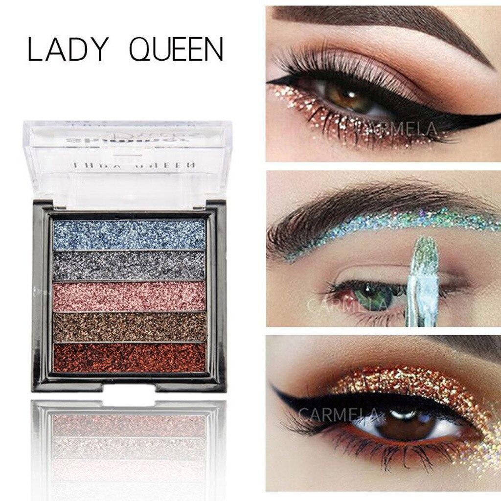 Shimmer Glitter Eye Shadow Powder Palette Matte No floating powder Eyeshadow Cosmetic Makeup Maquiagem Hot in Instagram INS