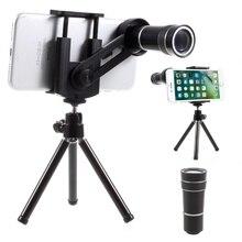 Buy Dulcii 10X Mobile Phone Telescope Camera Lens with Tripod, Phone Clamp Range: 55 – 85mm