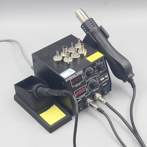 Image 4 - GORDAK 868D 2 in 1 500W Soldering Station SMD Rework Station Hot Air Gun Electric Solder iron For Welding Repair tools