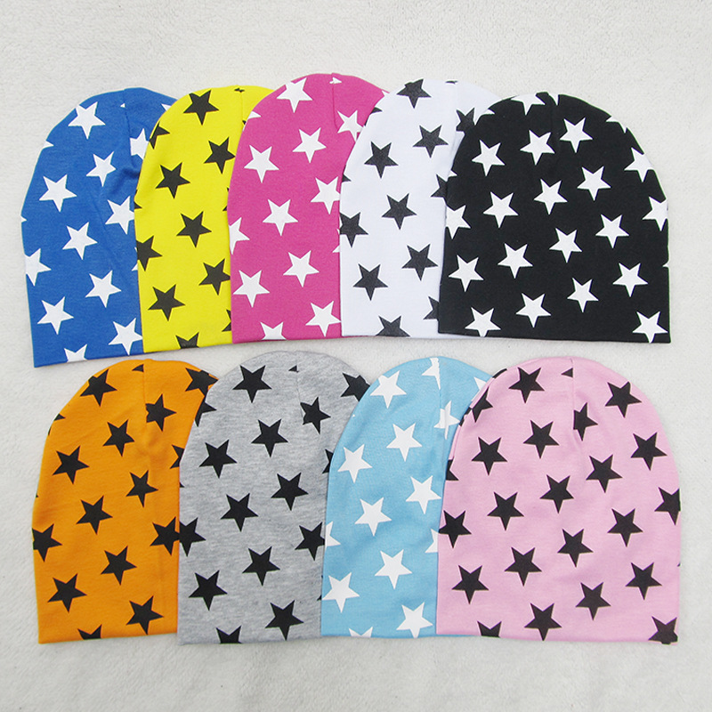 41 Types New Toddler Children's Beanie Head Cap Dome Baby Accessories Collar Scarf Small Star Hat Infant Cotton Cap years old 3