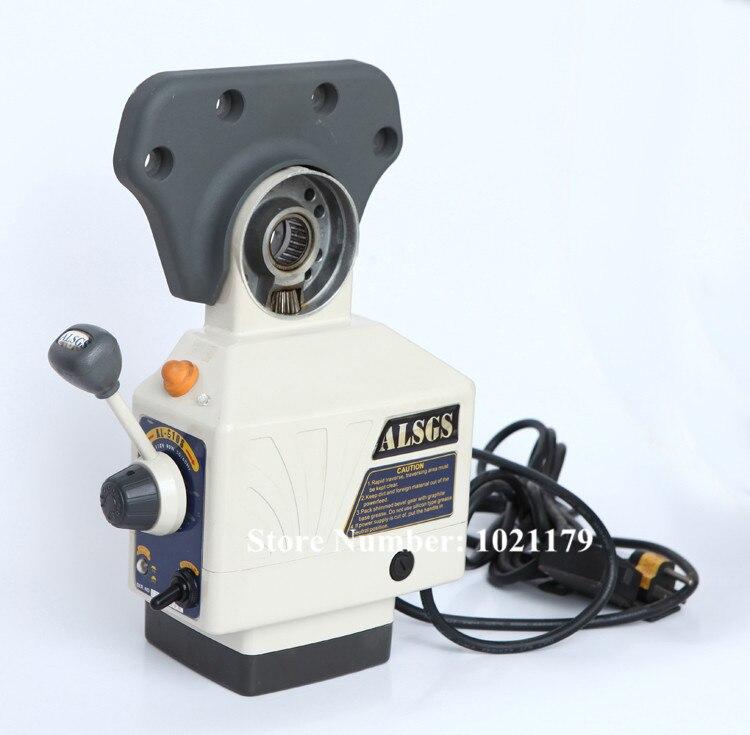 AL-510S zasilanie 650in-lb 200 obr./min AC220V/110 V zasilanie stołu zasilanie większy moment obrotowy frezarka X Y oś Z podajnik automatyczny