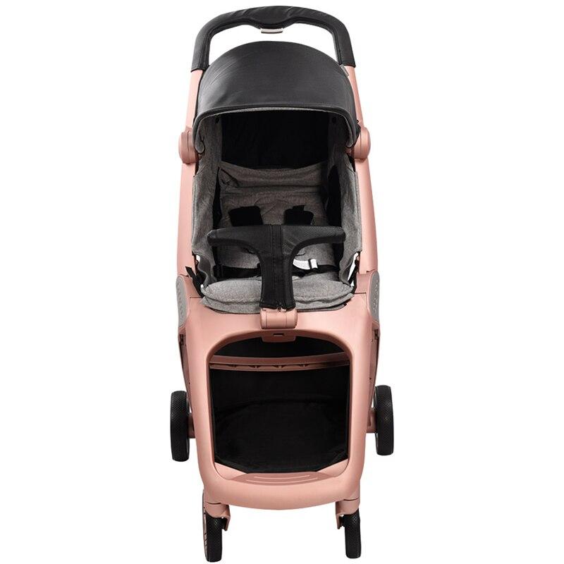 Babysing K-GO Poussettes de Luxe Toute La Saison Voyage Lumière Parapluie De Voiture Poussette Pliable Bébé Transport Marque Landau Poussette