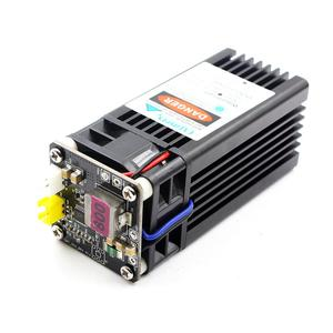 Image 4 - Oxlasers 15W מתח גבוה כחול לייזר מודול קבוע פוקוס לייזר ראש עבור DIY CNC חרט לחתוך דיקט