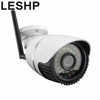 LESHP Su Geçirmez HD 720 P CCTV Kamera Açık Bullet Güvenlik Kamera IR-CUT Kızılötesi Gece Görüş 24 IR LED Gözetleme Kamerası