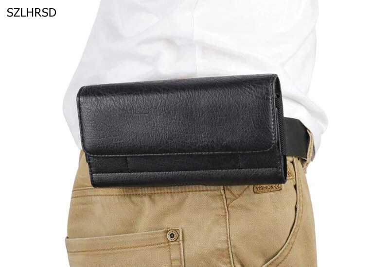 Universal Vintage Belt Clip Phone Bag for Blackview BV8000 BV7000 BV9000 Pro BV6000 BV6000S BV5000 Case Waist Bag Holster cover