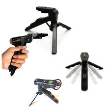 Handheld mini tripé suporte para zoom h1 h1n h2 h2n h4n pro h5 h6 q2n q2hd q3 q4 q4n q8