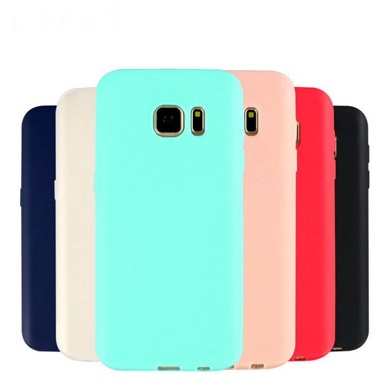 Scrub Silicone Soft TPU Case For Samsung Galaxy S8 Plus S7 Edge J2 J3 J5 J7 Prime 2017 A3 A5 A7 2018 C5 C7 C9 Pro Cover ...