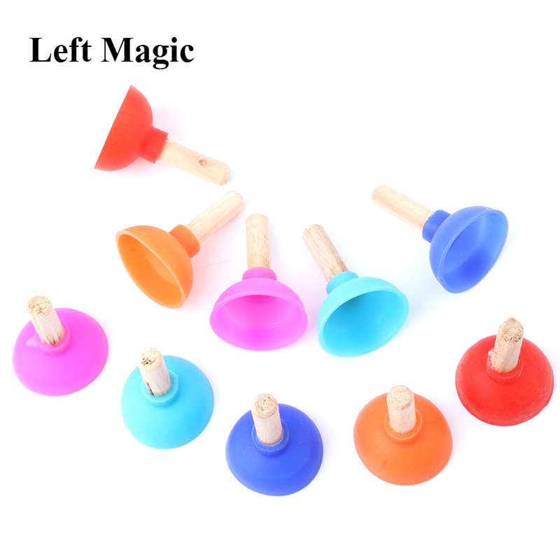 1pcs Tiny Plunger By Jon Armstrong - Magic Tricks Inspired Looking For Card Professional Close-Up Street Mentalism Magic Props