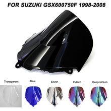 цена на For 98-08 Suzuki Katana GSX600F GSX750F GSX 600F 750F gsx 600f 750f 1998-2008 1999 2000 Windshield Windscreen Wind Deflectors