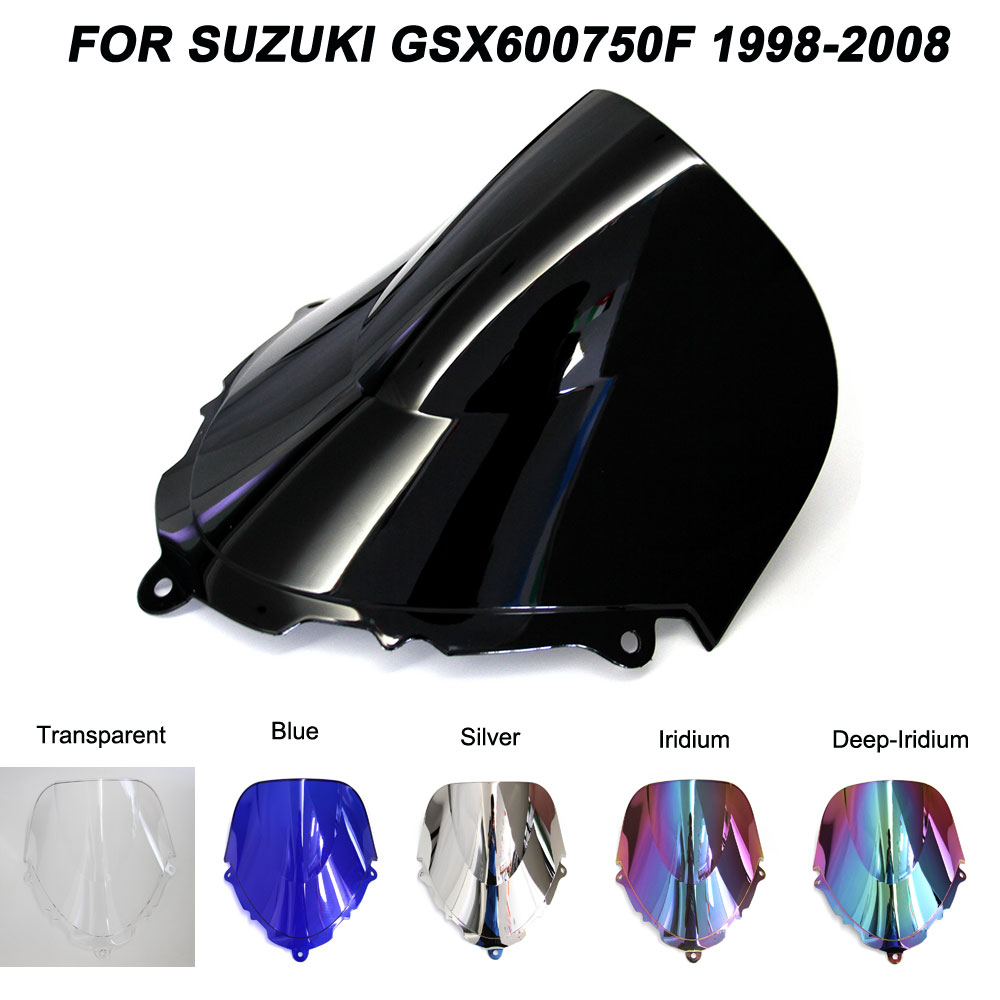 For 98-08 <font><b>Suzuki</b></font> Katana <font><b>GSX600F</b></font> GSX750F GSX 600F 750F gsx 600f 750f 1998-2008 <font><b>1999</b></font> 2000 Windshield Windscreen Wind Deflectors image
