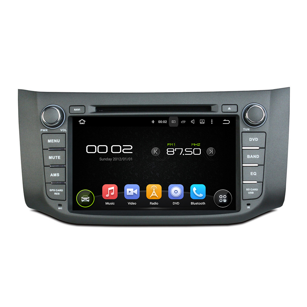 octa core android6 0 car dvd player for Nissan Sylphy B17 Sentra 2012 2014 auto headunit