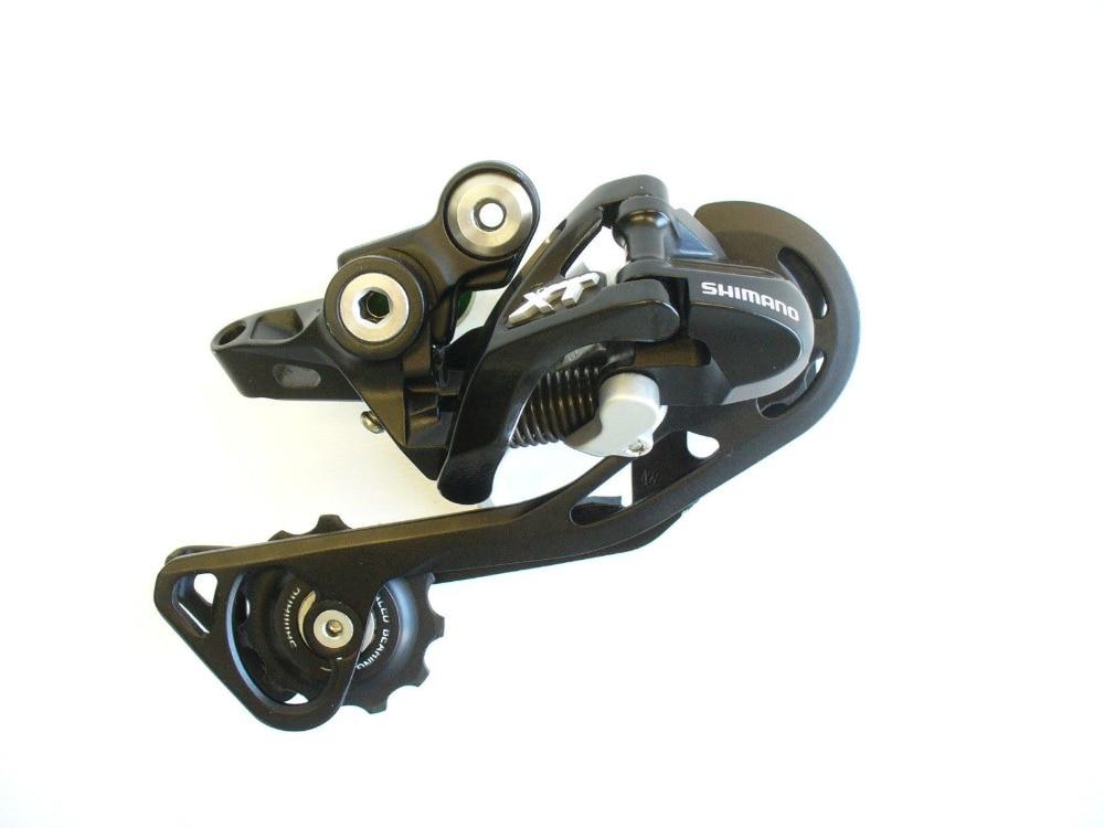 Shimano XT rd-m781 rd-m786 M781 M786 10 Скорость горный велосипед тень задний переключатель черные длинные клетка