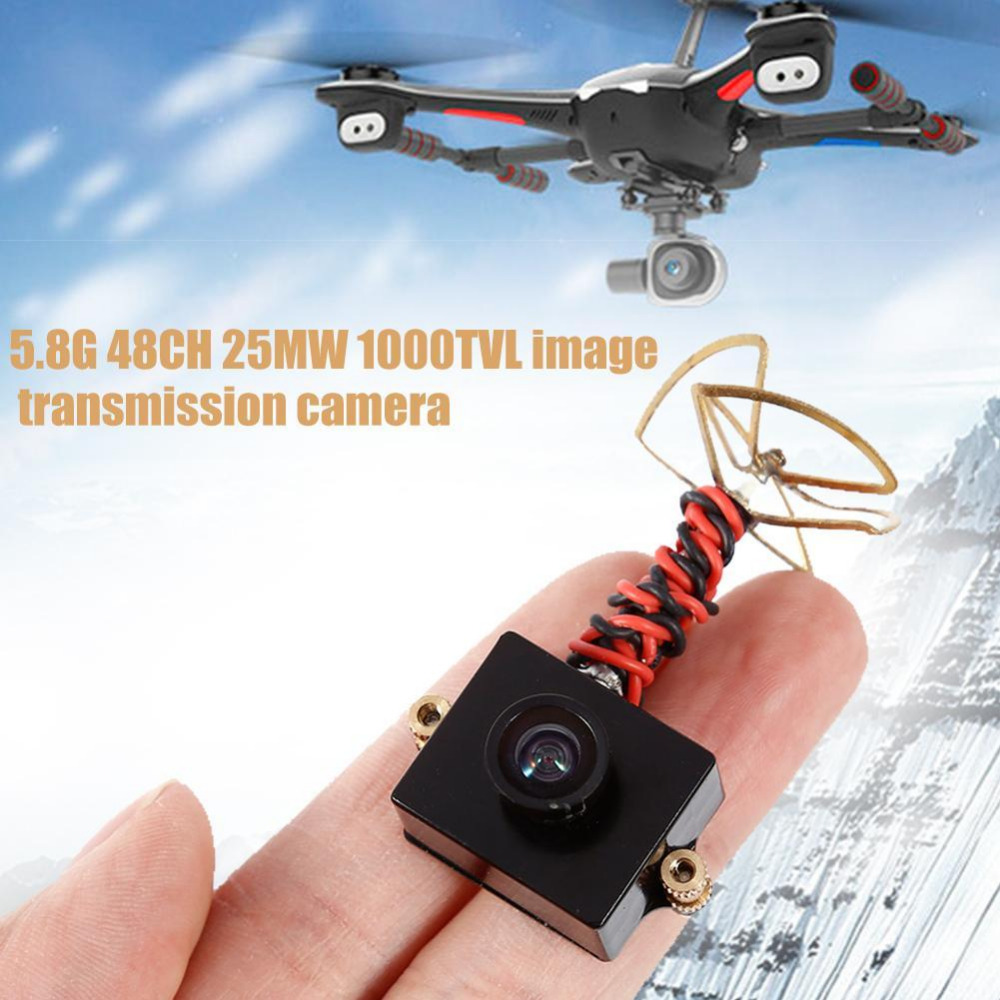 Mini 5.8G FPV Receiver UVC Video Downlink OTG VR 5.8G 48CH 25MW VTX 1000TVL FPV Camera Built-in Transmitter fpv mini 5 8g 150ch mini fpv receiver uvc video downlink otg vr android phone