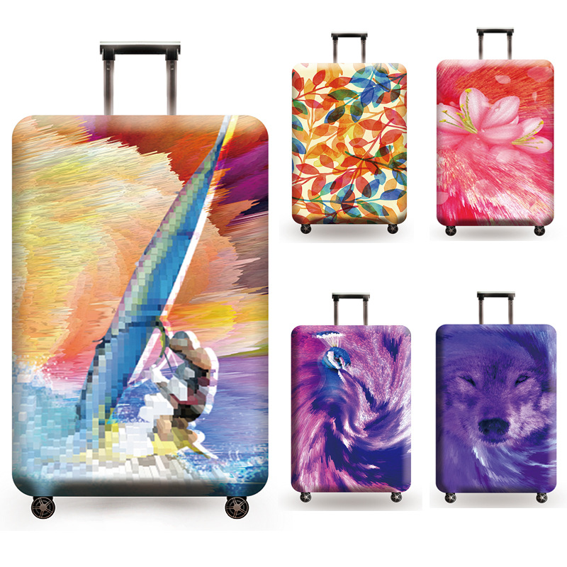 Luggage Cover Protective Suitcase Cover Trolley Case Travel Luggage Case Dust Cover For 18 To 32inch Case