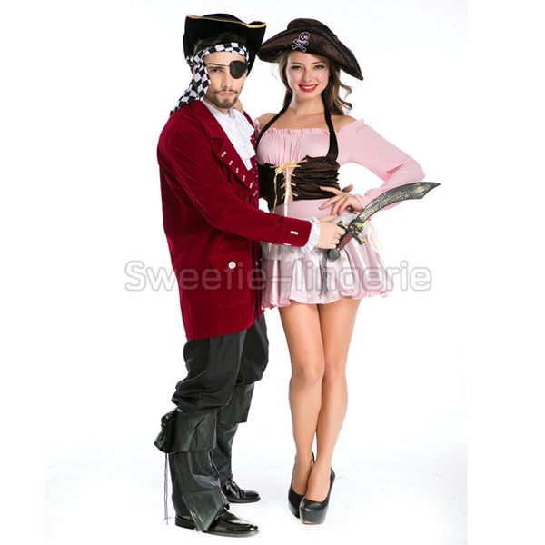 Wholesale Women Pirate Costumes Girls pirates cosplay Costume role playing Halloween party pirate Couple costume cosplay  sc 1 st  AliExpress.com & Wholesale Women Pirate Costumes Girls pirates cosplay Costume role ...