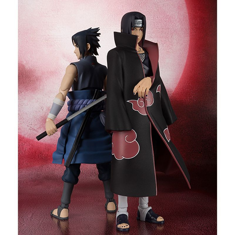 16cm Anime Naruto Uchiha Itachi PVC action figure collection model toys for Christmas gift pu short wallet w colorful printing of naruto shippuden uchiha itachi