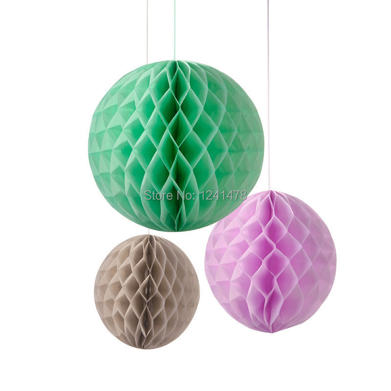Paper Honeycomb Balls Wedding Decoration 8inch20cm 12piece Lot DIY Lantern For Hanging On Aliexpress