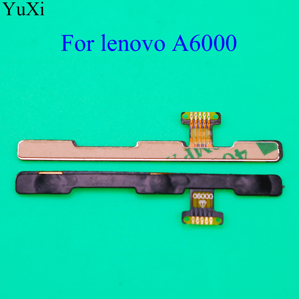 YuXi High Quality Volume Power On/off Button Switch Flex Cable For Lenovo A6000 K3 K30-T K30-W Replacement Repair Parts