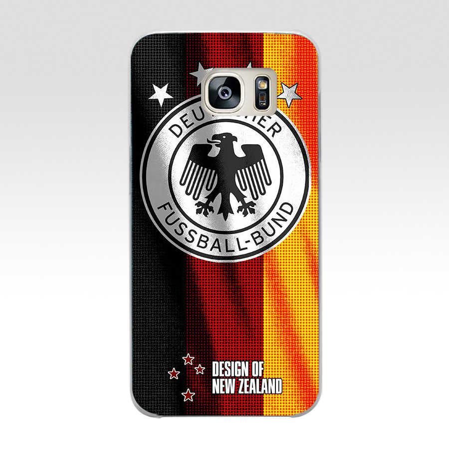 294FG Германия футбольный чехол для телефона из мягкого силикона ТПУ с рисунком крышка чехол для телефона для samsung a3 2016 a5 2017 a6 плюс a7 a8 2018 s6 7 8 9