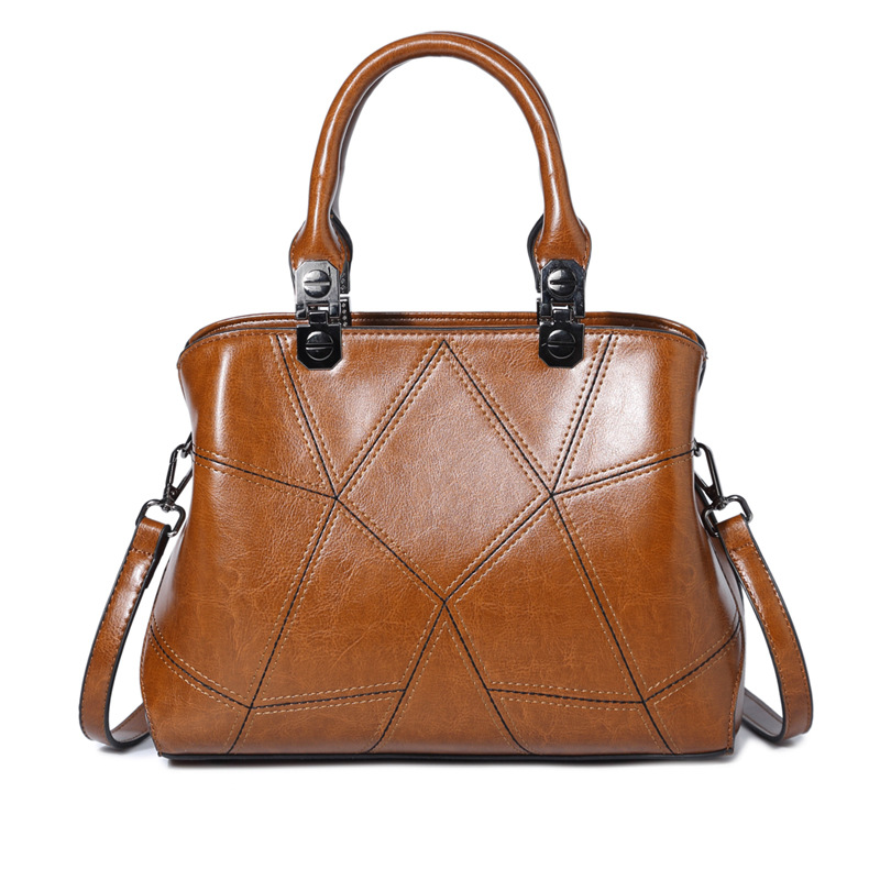 New Fashion Women Handbag Genuine Leather Female Shoulder Bag Tote Casual Ladies Bags Luxury Handbags Women Bags Designer  C358 new arrival casual women shoulder bags genuine leather female big tote bags luxury ladies handbag large capacity messenger bag