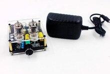 DC 12 V HIFI หลอดสูญญากาศ Preamp HiFi Audio 6J1 วาล์ว Pre   Amplifier
