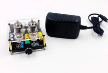 Válvula amplificadora de áudio hifi, válvula hi fi de 12v dc, pré amplificador e válvula 6j1
