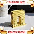 Presente de ano novo arco do triunfo 3D liga de Metal modelo de brinquedos para DIY jogo os embutido de decoração