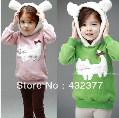 clearance-Autumn-and-winter-children-fashion-cute-rabbit-pattern-sweater-kids-outerwear-coats-girls-clothing-3