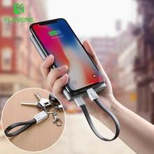 FLOVEME Câble USB D'origine Pour iPhone 7 8 Plus X XR XS Chargeur Micro Câble USB Pour Samsung S7 S6 Charge Câbles de Téléphone Portable